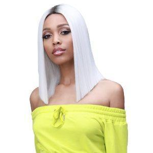 So Good Shop Deep Part Lace Wigs RT.ICE WHITE Bobbi Boss Synthetic 5 inch Deep Part Lace Front Wig - MLF136RTS YARA ROOTS LIMITED