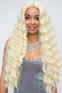 So Good Shop Deep Part Wigs 1 Janet Collection Synthetic Extended Deep Part Lace Wig - JULIANA