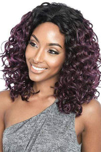 So Good Shop Ear-To-Ear Lace Wigs 1 Mane Concept Red Carpet Lace Front Wig - RCP767 AMBER