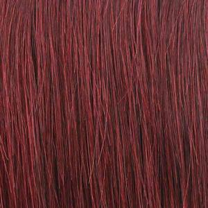 So Good Shop Ear-To-Ear Lace Wigs 99J Mane Concept Red Carpet Synthetic Crown Braid Lace Wig - RCCB02 CLOVER