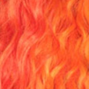 So Good Shop Ear-To-Ear Lace Wigs ORANGE BLAST Zury Sis Beyond Synthetic Moon Part Hair Lace Wig - BYD MP LACE H FAB