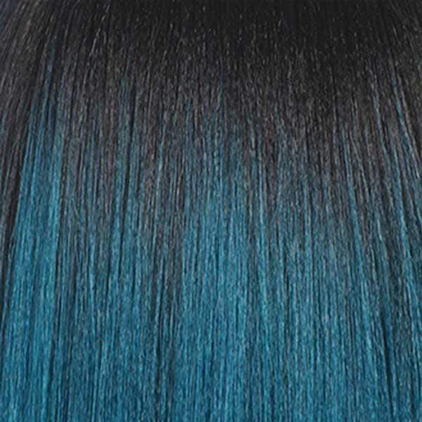So Good Shop Ear-To-Ear Lace Wigs TT1B/DTEAL Bobbi Boss Synthetic Lace Front Wig - MLF184 YARA BANG