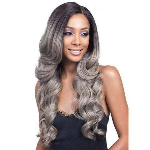 So Good Shop Frontal Lace Wigs 1 Bobbi Boss Synthetic 13x4 Hand-Tied Swiss Lace Front Wig - MLF224 KEESHANA