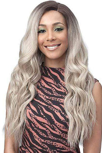 So Good Shop Frontal Lace Wigs Bobbi Boss Secret Lace Synthetic 13x7 Hand-Tied Swiss Lace Front Wig - MLF392 LARA