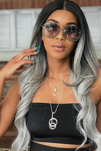 So Good Shop Frontal Lace Wigs Bobbi Boss Synthetic 13x4 Hand-Tied Swiss Lace Front Wig - MLF224 KEESHANA