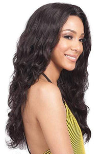 SoGoodBB.com Frontal Lace Wigs NATURAL Bobbi Boss 100% Brazilian Virgin Hair 360 Lace Wig - MHLF-W SAMIRA