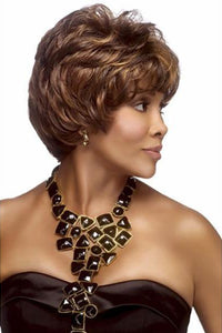 SoGoodBB.com Synthetic Wigs 1 Vivica A Fox Handmade Wig Pure Stretch Cap Synthetic Wigs - JAI-V