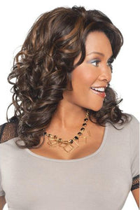 Vivica A Fox Ear-To-Ear Lace Wigs 1 Vivica A Fox Lace Front Wig Ear-To-Ear Lace Wigs - GOLDIE-V