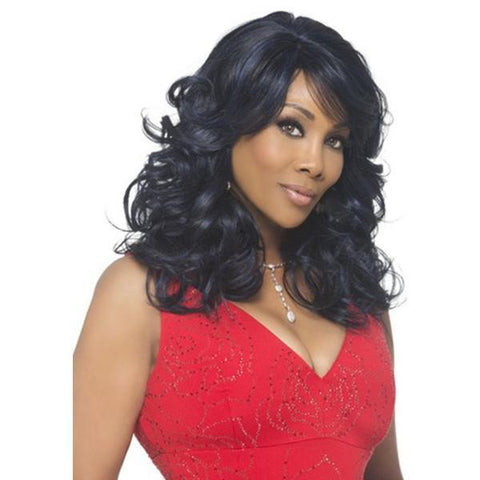Vivica A Fox Synthetic Wigs 1 Vivica A Fox Pure Stretch Cap Synthetic Wigs - SILVER-V