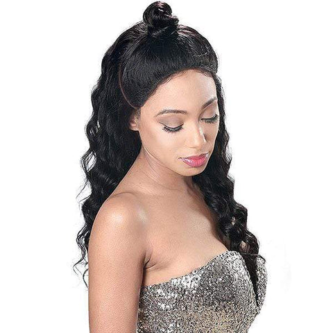 Zury 100% Human Hair Lace Wigs NATURAL Zury Sis 100% Brazilian Virgin Unprocessed Human Hair Wig HRH - LACE FRONTAL WYNN