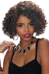 Zury 100% Human Hair Wigs 99J Zury Sis Naturali Star Pre-Tweezed Part Human Hair Wig - HR NAT 3B JETTA
