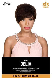 Zury 100% Human Hair Wigs Zury Sis 100% Human Hair Revive Lace Part Wig - HR DELIA