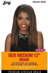Zury Box Braid 1 Zury Crochet Braid Box Braid - (3 Pack Deal!) Box Medium 12""