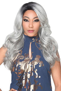 Zury Ear-To-Ear Lace Wigs 1 Zury Sis Synthetic Hair Invisible Top C Part Lace Wig - IV LACE H ARI