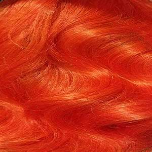 Zury Ear-To-Ear Lace Wigs ORANGE Zury Sis Royal Swiss Lace Synthetic Hair Lace Front Wig - LACE H TOBI