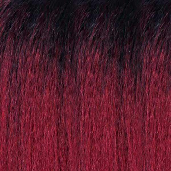 Zury Ear-To-Ear Lace Wigs SOM BURGUNDY Zury Sis Beyond Your Imagination Synthetic Lace Front Wig - BYD LACE H ROME
