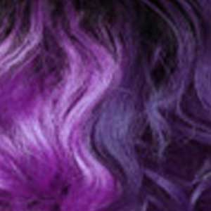 Zury Ear-To-Ear Lace Wigs SOM HH PURPLE Zury Sis Synthetic Hair Invisible Top C Part Lace Wig - IV LACE H ARI