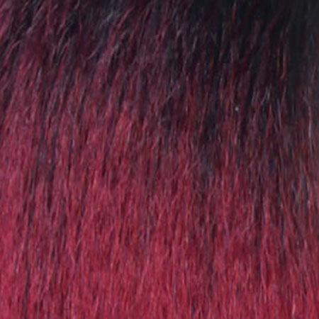 Zury Ear-To-Ear Lace Wigs SOM RT BURGUNDY Zury Sis Beyond Synthetic Moon Part Hair Lace Wig - BYD MP LACE H ROYA