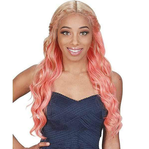 Zury Ear-To-Ear Lace Wigs Zury Sis Beyond Your Imagination Synthetic Lace Front Wig - BYD LACE H ROME