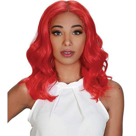 Zury Ear-To-Ear Lace Wigs Zury Sis Royal Swiss Lace Synthetic Hair Lace Front Wig - LACE H TOBI