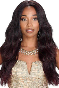 Zury Human Hair Blend Lace Wigs 1 Zury Sis Prime Human Hair Natural Blend 13x4 Lace Front Wig - PM LFP LACE BRADY