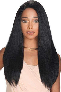 Zury Human Hair Blend Lace Wigs 1 Zury Sis Prime Human Hair Natural Mix 4x4 Soft Swiss Lace Front Wig - PM FP LACE HAZEL