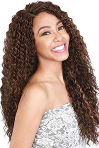 Zury Synthetic Wigs 1 Zury Sis Synthetic Hair Swiss Lace Pre Tweezed Part Wig - SW H CANTU