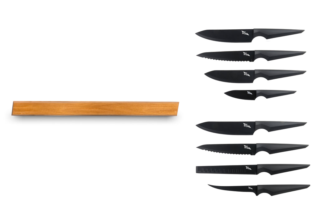 PRECISION 4 PC PROFESSIONAL & STAINLESS STEEL SET WITH LARGE MAGNETIC RACK - Edge of Belgravia Preorder