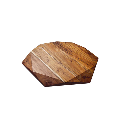 LARGE TEAK STAR SLIM EDITION (13.8x13.8x0.7