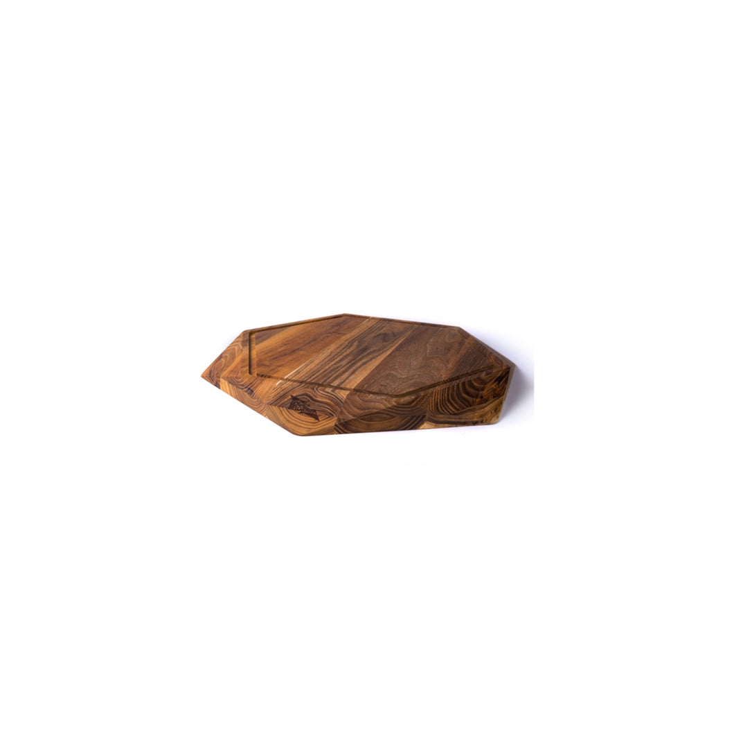 SMALL TEAK STAR WITH JUICE TRENCH - Edge of Belgravia Preorder