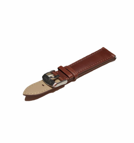 KING 20MM Premium Leather Strap | Brown