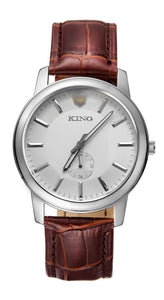 KING Evolution Series White | Brown Leather