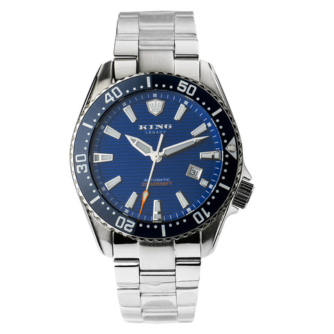 KING Legacy Diver | Blue Ceramic Bezel