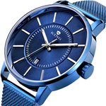 KING ARMORED CLASSIC MEN'S WATCH COBALT BLUE