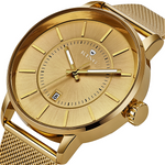 KING ARMORED CLASSIC MEN'S AND WOMEN'S WATCH GOLD