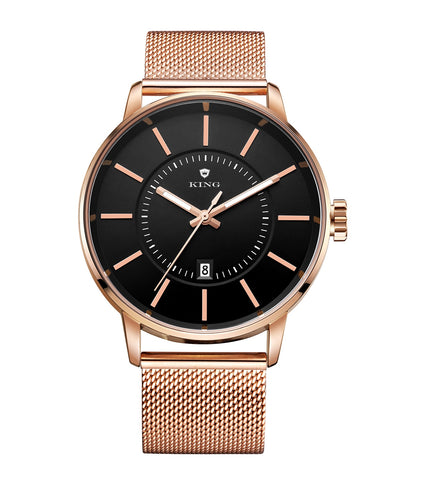 KING Armored Classic | Rose Gold