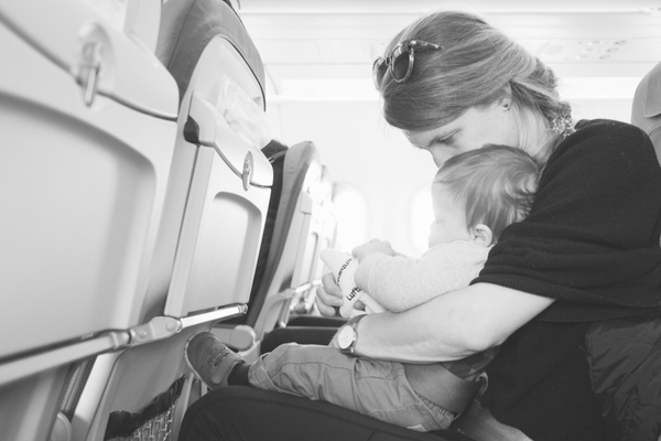 8 Tips To Flying Toxin-Free With A Baby