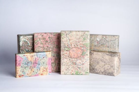 8 Eco Friendly Wrapping Paper Ideas: Maps
