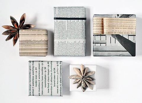8 Eco Friendly Wrapping Paper Ideas: Newspaper & Magazines