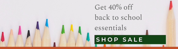 Shop Back To School Sale At The Clean Collective