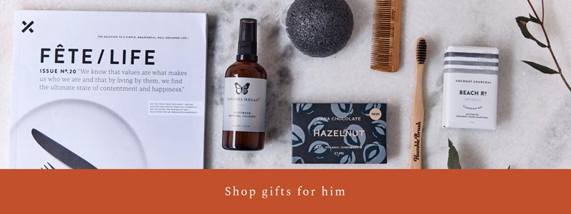 Natural, Organic, Eco-Friendly Christmas Gift Ideas For Him