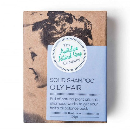 The ANSC Solid Shampoo for Oily Hair (100g)