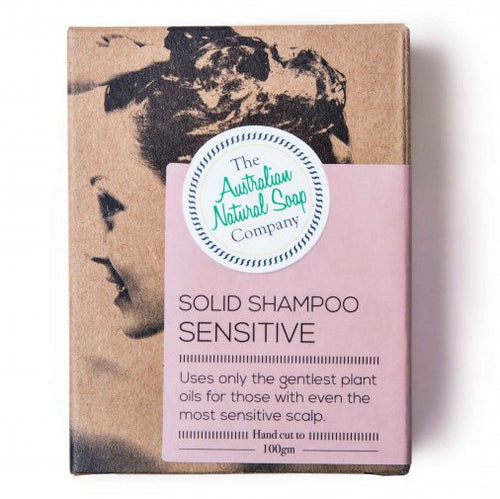 The ANSC Solid Shampoo for Sensitive Scalp (100g)