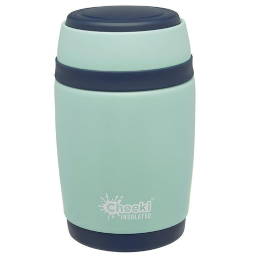 Cheeki Insulated Food Jar, 480ml Pistachio