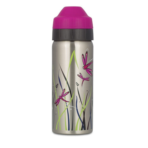 Ecococoon Stainless Steel Water Bottle, Dragonfly Midnight - 500ml
