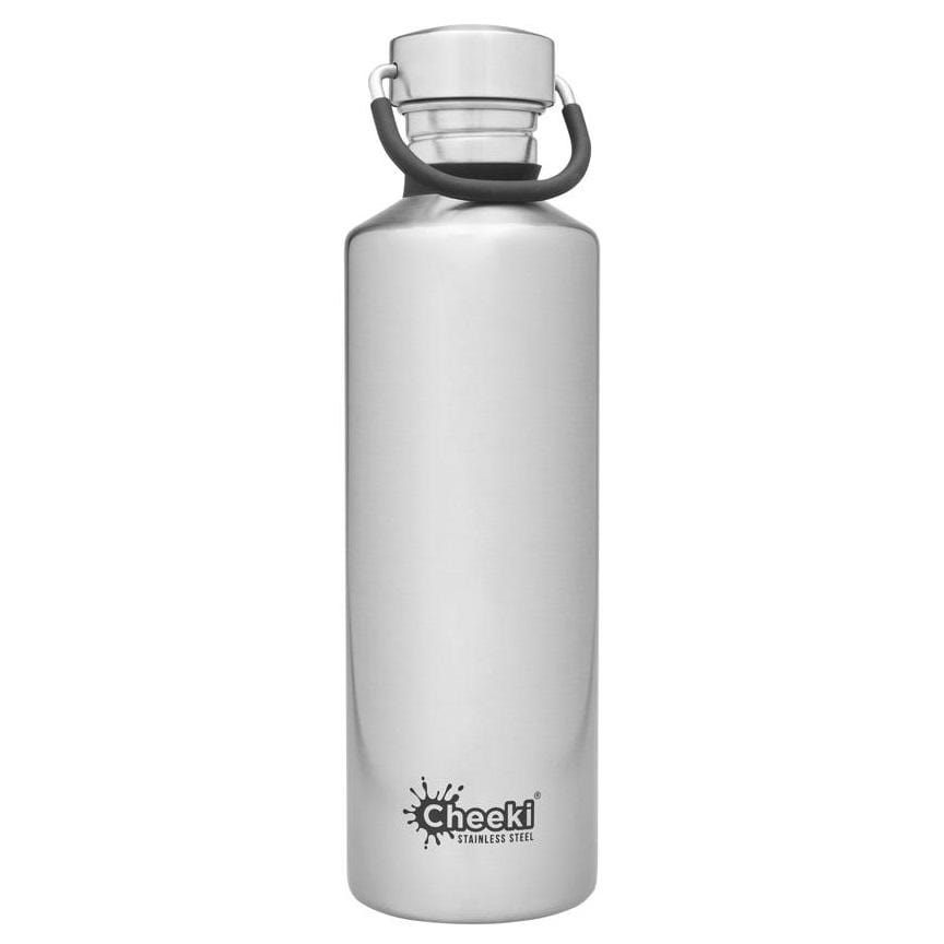 Cheeki Stainless Steel Single Wall Bottle, Silver
