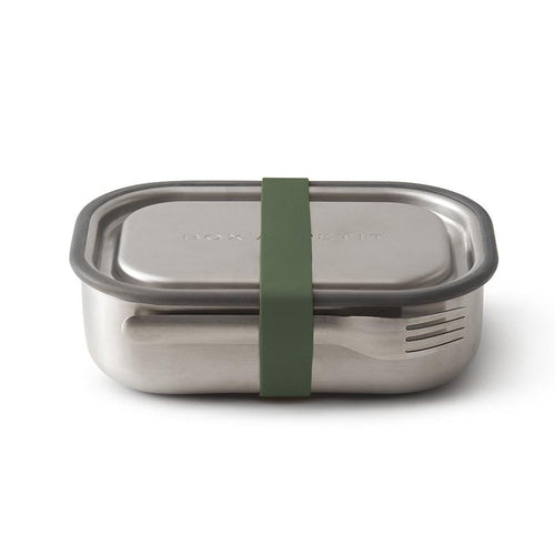 Black + Blum Stainless Steel Lunch Box, Olive