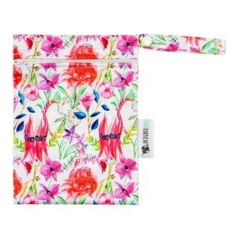Designer Bums Mini Wet Bag, Floral Federation
