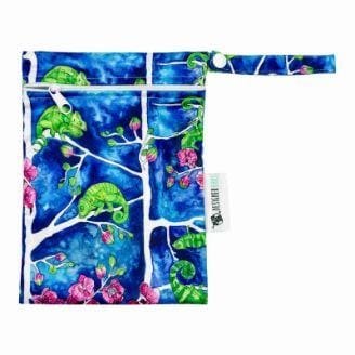 Designer Bums Mini Wet Bag, Karma Chameleon