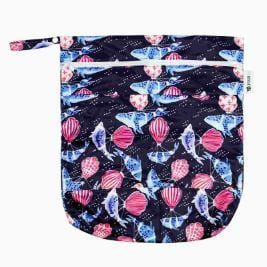 Designer Bums Wet Bag, Deep Sea Dreaming